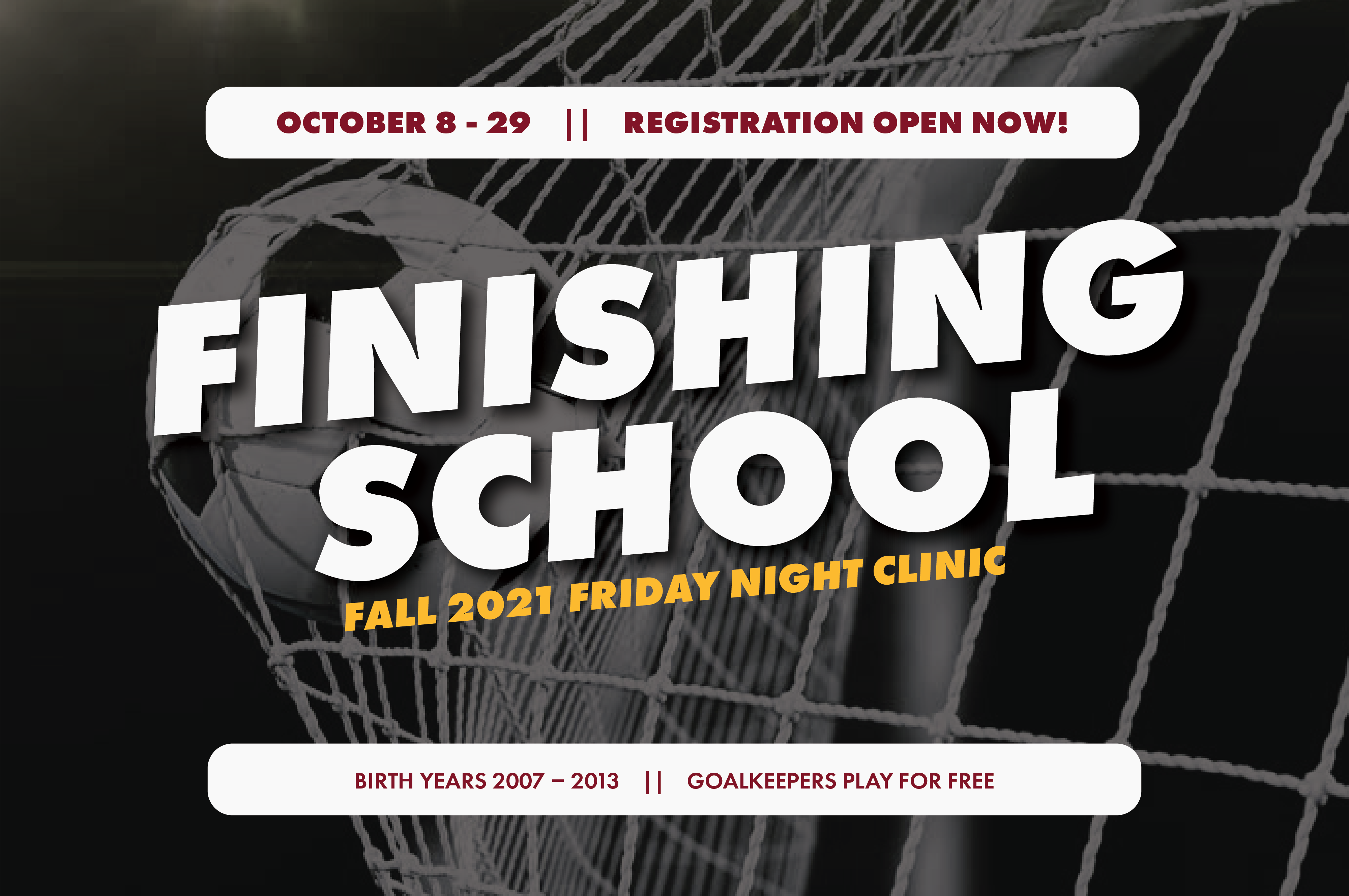 PacNW Fall Finishing School is open for registration until Oct. 7! Click for more info and how to register